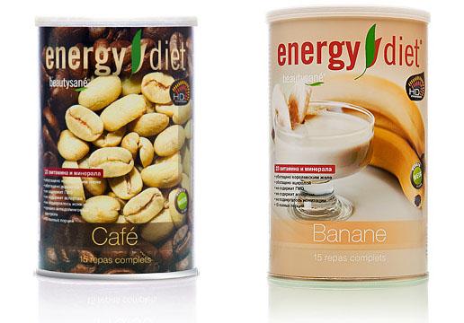 Вкусы Energy Diet