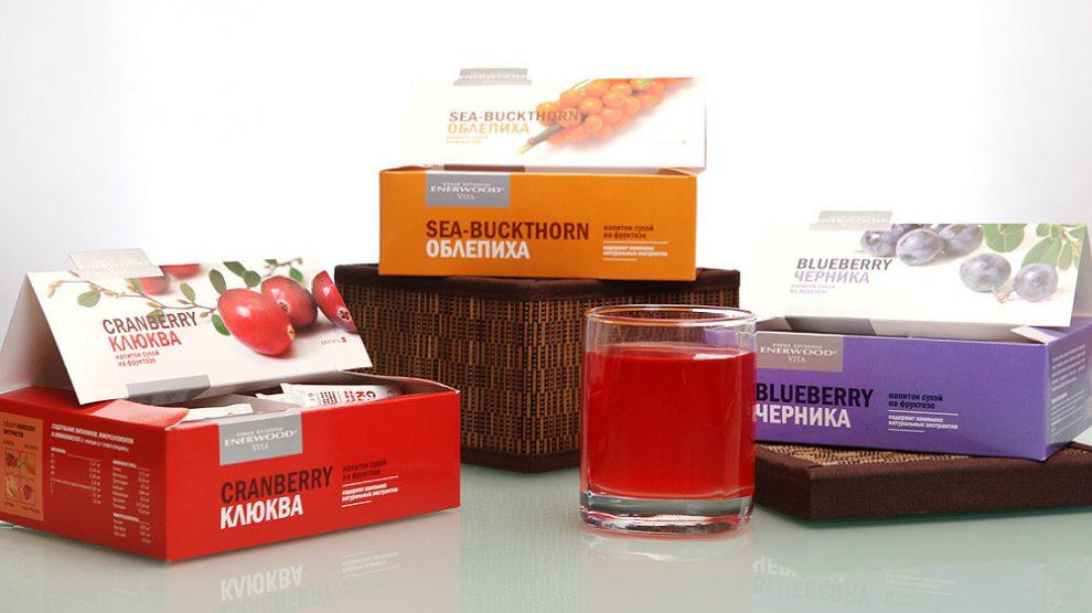 Enerwood Vita – витаминизированные сухие напитки