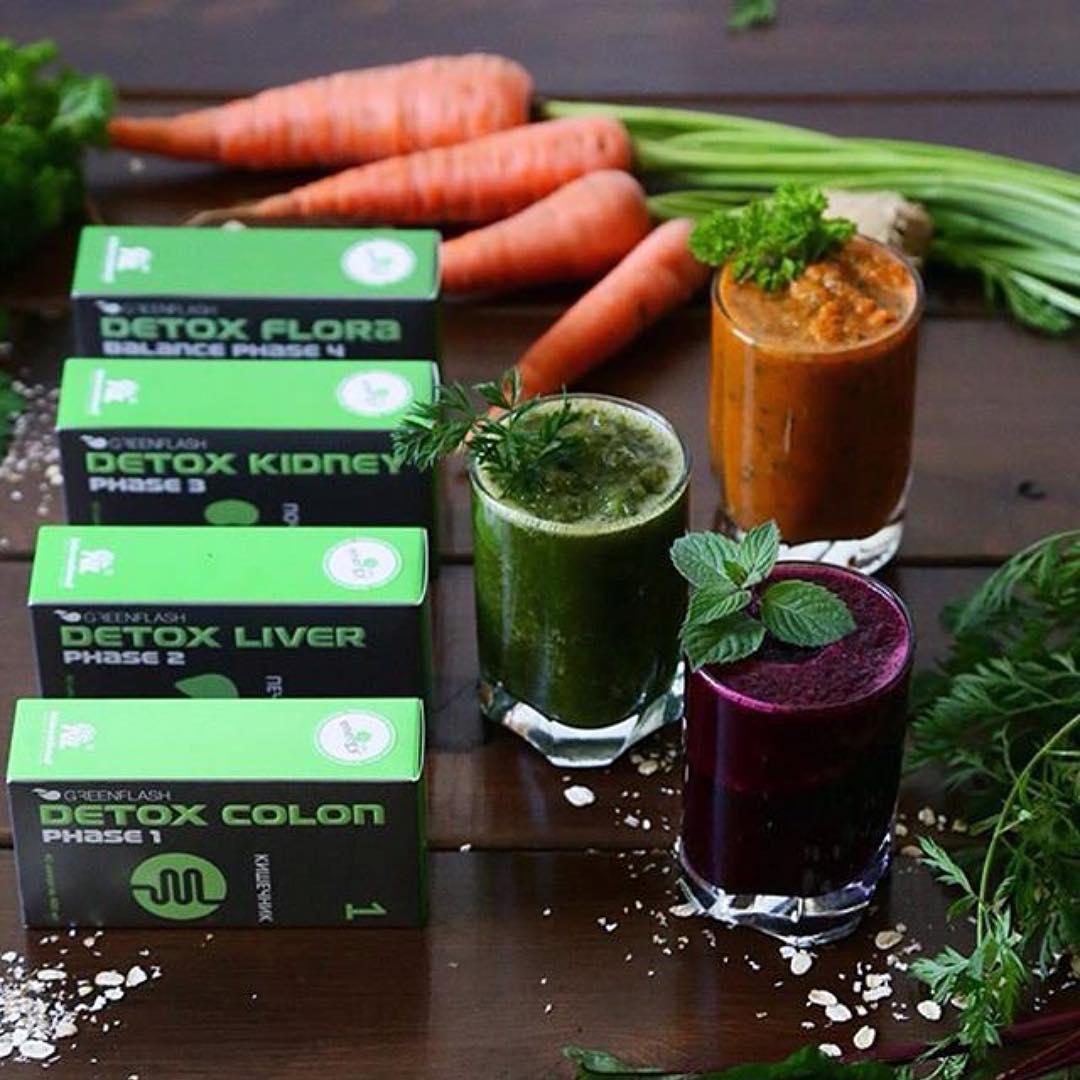 Greenflash detox - программа комплексного очищения организма
