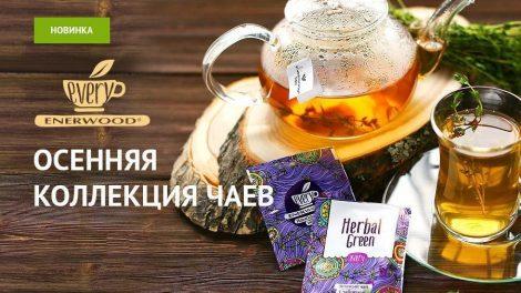 осенняя коллекция чаев с грибом рейши