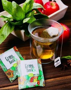 зеленый чай enerwood every- с базиликом