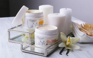 4 лимитированных маски для волос Cure Occuba теперь в линейке основной продукции