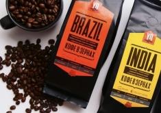 Кофе в зернах Бразилия, Индия и Перу