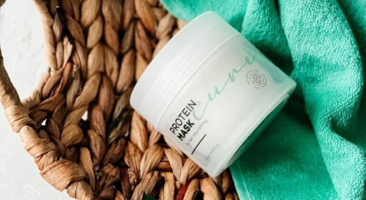 Питательная протеиновая маска для волос Cure Mask с усиленным составом