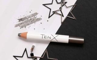 Графитовые пудровые тени-карандаш TenX