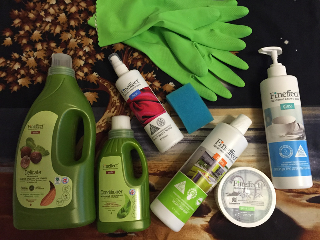 Fineffect — средства для волшебной уборки дома