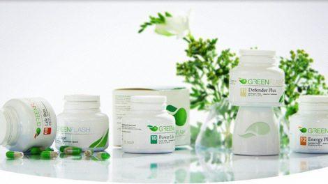 Greenflash - биологически активные добавки к пище
