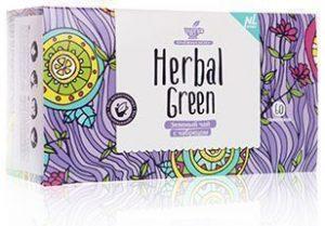 чай herbal green с грибом рейши