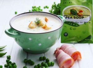 energy diet smart гороховый суп в чашке