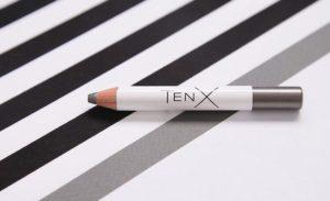 Графитовый оттенок пудровых теней-карандаш TenX