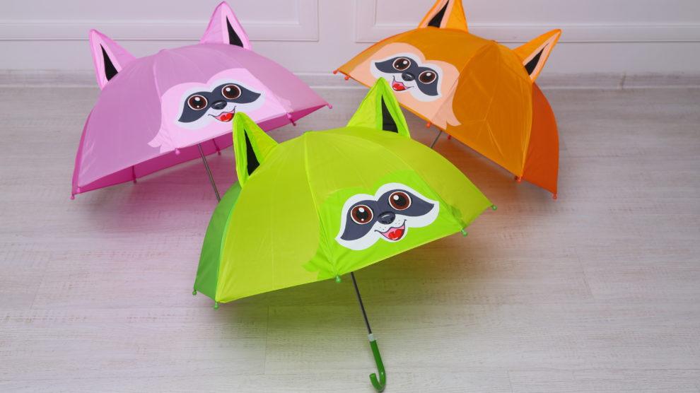 детские зонты-еноты от nl edешка