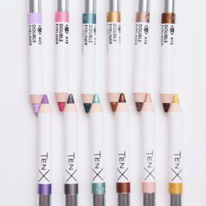 двойные карандаши от tenx все оттенки